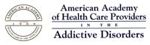 American Academy of Health Care Providers in the Addictive Disorders Logo