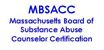 Massachusetts Board of Substance Abuse Counselor Certification Logo